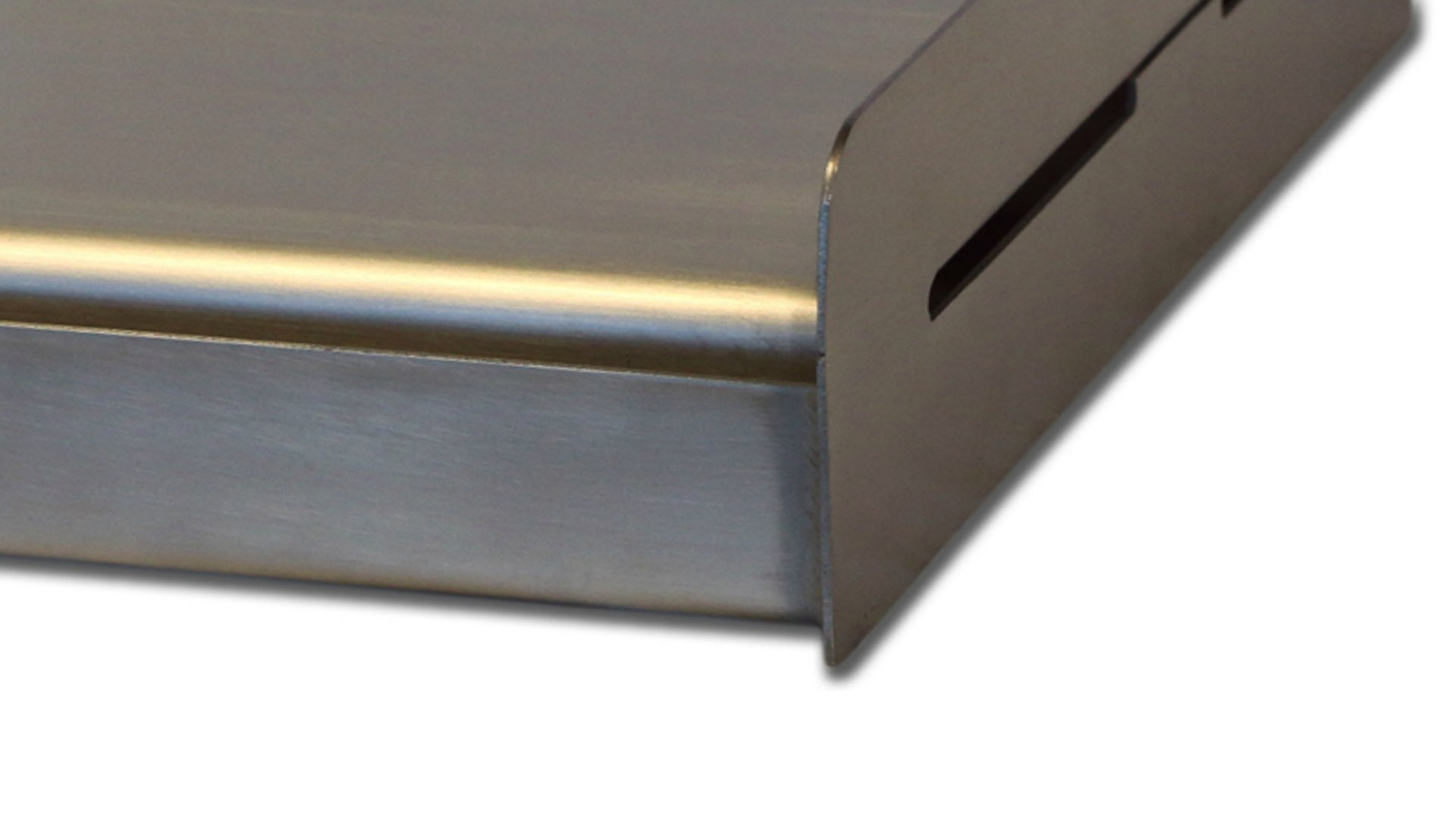 Little Griddle SQ180 Universal Griddle for BBQ Grills, Stainless (Formerly the Sizzle-Q) by Little Griddle (Image #2)