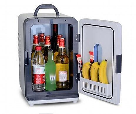Refrigerador Del Coche Refrigerador Doble 18L Refrigerador Mini Congelado Pequeño Refrigerador Casero Del Refrigerador Del Refrigerador