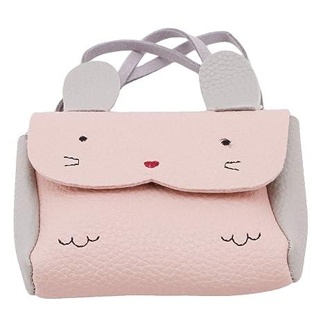 17e4e6821e18 Amazon.com: GUAngqi Cute Mini Coin Case Fashion Lovely Cartoon Bunny ...