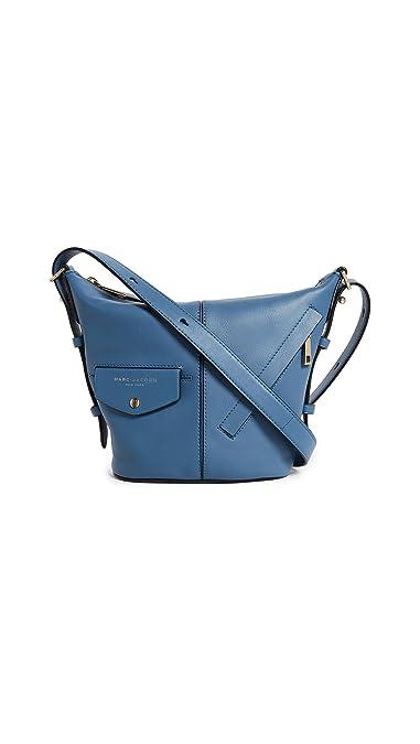 56f24303b9e4bf Amazon.com: Marc Jacobs Women's The Mini Sling Bag, Vintage Blue ...