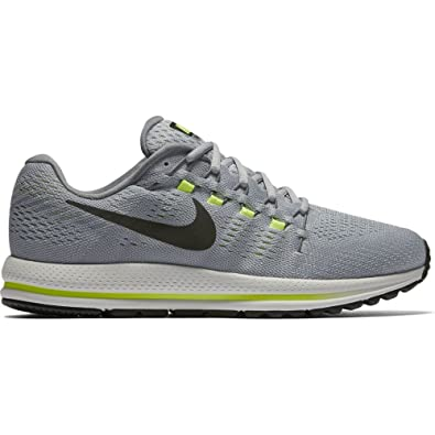 Nike Mens Air Zoom Vomero 12 4E Wolf Grey/Cool Grey/Pure Platinum/