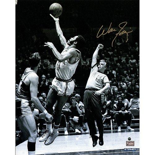 Walt Frazier Autographed Basketball - 3
