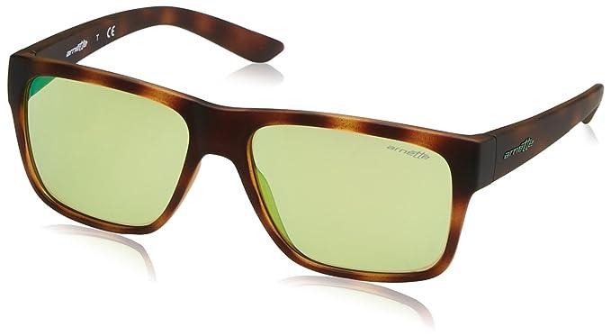 Arnette Reserve gafas de sol, Havana Rubber, 57 para Hombre