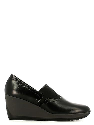 Susimoda 855096 Mocassins Femmes Noir Noir - Chaussures Mocassins Femme