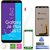 J6 Plus LCD Screen Replacement Touch Display Digitizer Assembly (Black) for Samsung Galaxy J6+ 2018 / J6 Plus SM-J610…