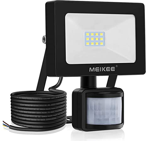 50W Foco LED con Sensor de Movimiento, MEIKEE Proyector Led Exterior Super Brillante 5000lm, Luz Led Exterior IP66 Impermeable, Foco LED Detector para Jardín, Patio, Garaje - Blanco Frío(6500K): Amazon.es: Bricolaje y