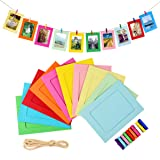 LEJHOME Paper Picture Frames, 30pcs Photo Frames