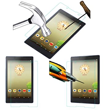 Acm Tempered Glass Screenguard For Lenovo Tab 3 8 Tablet Screen Guard Scratch Protector Tablet Accessories