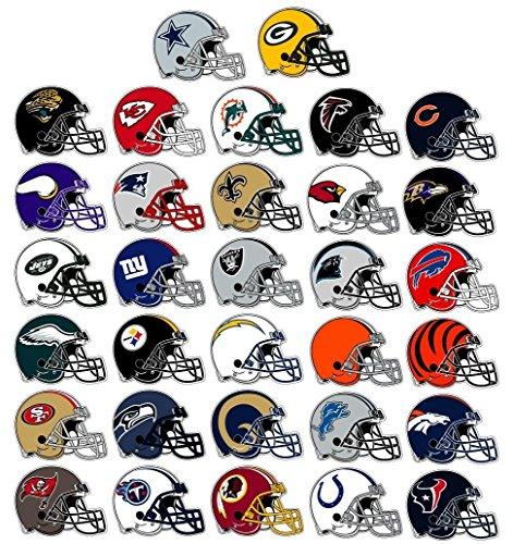 NFL Helmet Stickers - Full 32 Team Set ()
