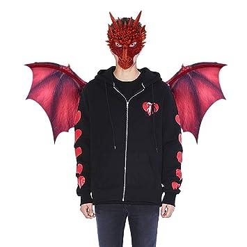 Amazon.com: Máscara 3D de Halloween para disfraz de dragón y ...