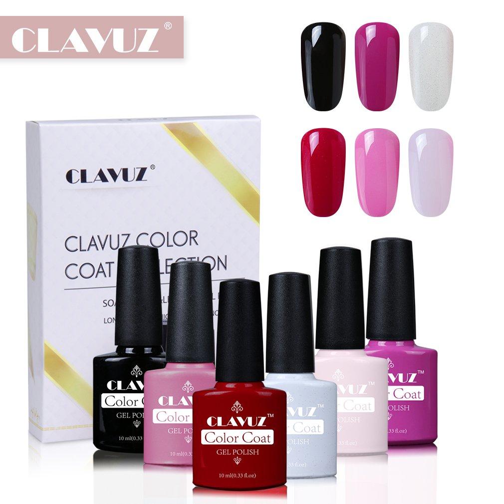 Smalto Semipermente per Unghie in Gel UV LED 6pzs Colori Kit per Manicure Smalti Gel per Unghie Soak Off de Clavuz Generic