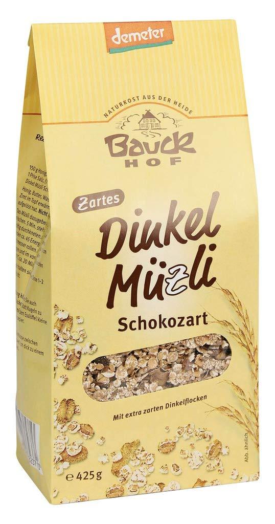 Bauck HOF - cereales de espelta (4 unidades, 425 g), color marrón: Amazon.es: Salud y cuidado personal