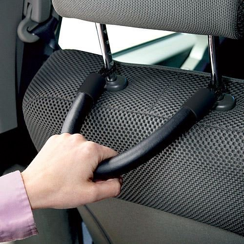 Mobility Aid Car Handles To Help Back//Rear Seat Passengers Get In And Out Of Vehicle More Easily Auto Car Handle Assist Hand Grips,Car Headrest Handle Set of 2