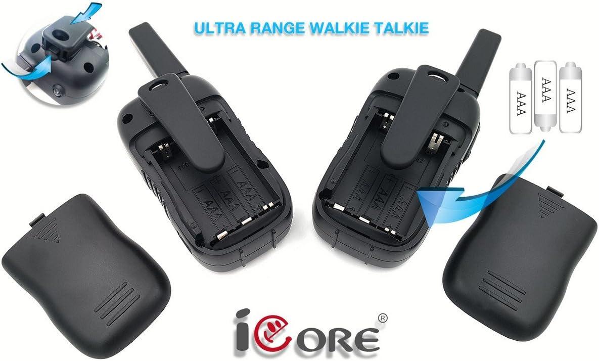 Toys Talkie Long Range 2 Way Radio iCore Walkie Talkies for Kids Rechargeable