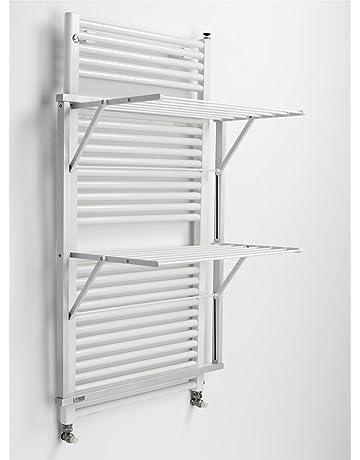 Arredamenti Italia - Tendedero con Calefacción (Haya Maciza, 69 x 89 x 45 cm