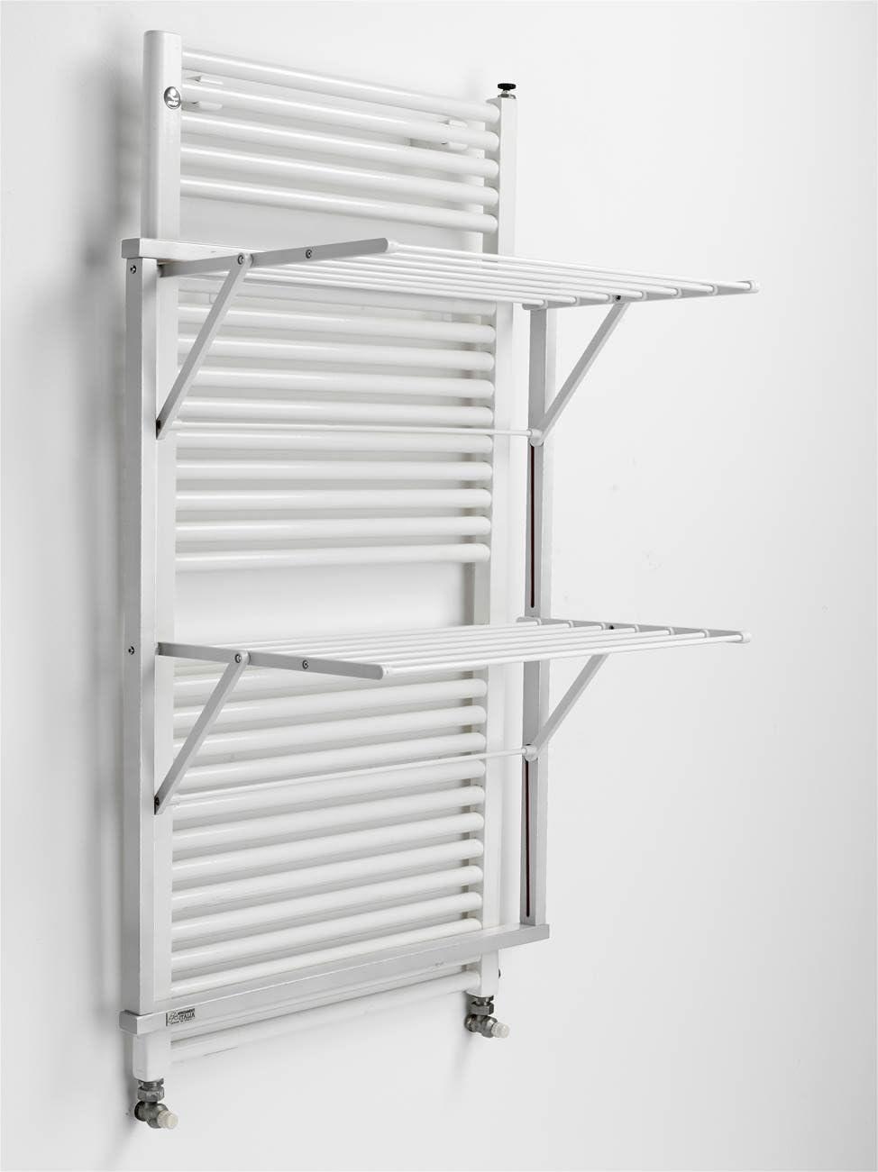 10 m extensibles Arredamenti Italia Tendedero para radiador KLAUS Plegable Color blanco Ar-It il cuore del legno madera