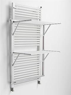 Pratico Scaldasalviette elettrico con montaggio a parete ...