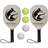 Wolfe Wooden Pickleball Paddle Set