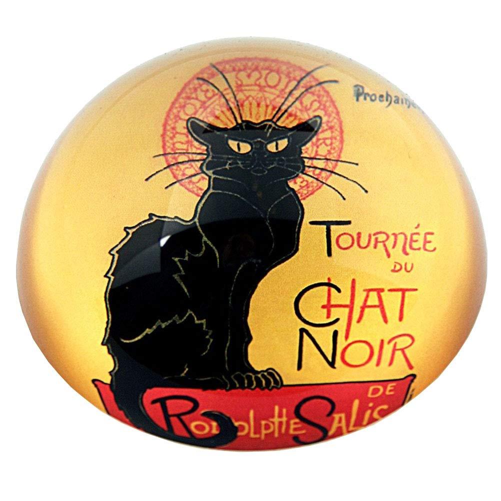 """Parastone Movseion Collezione Steinlen fermacarte /""""Le chat noir/"""""""