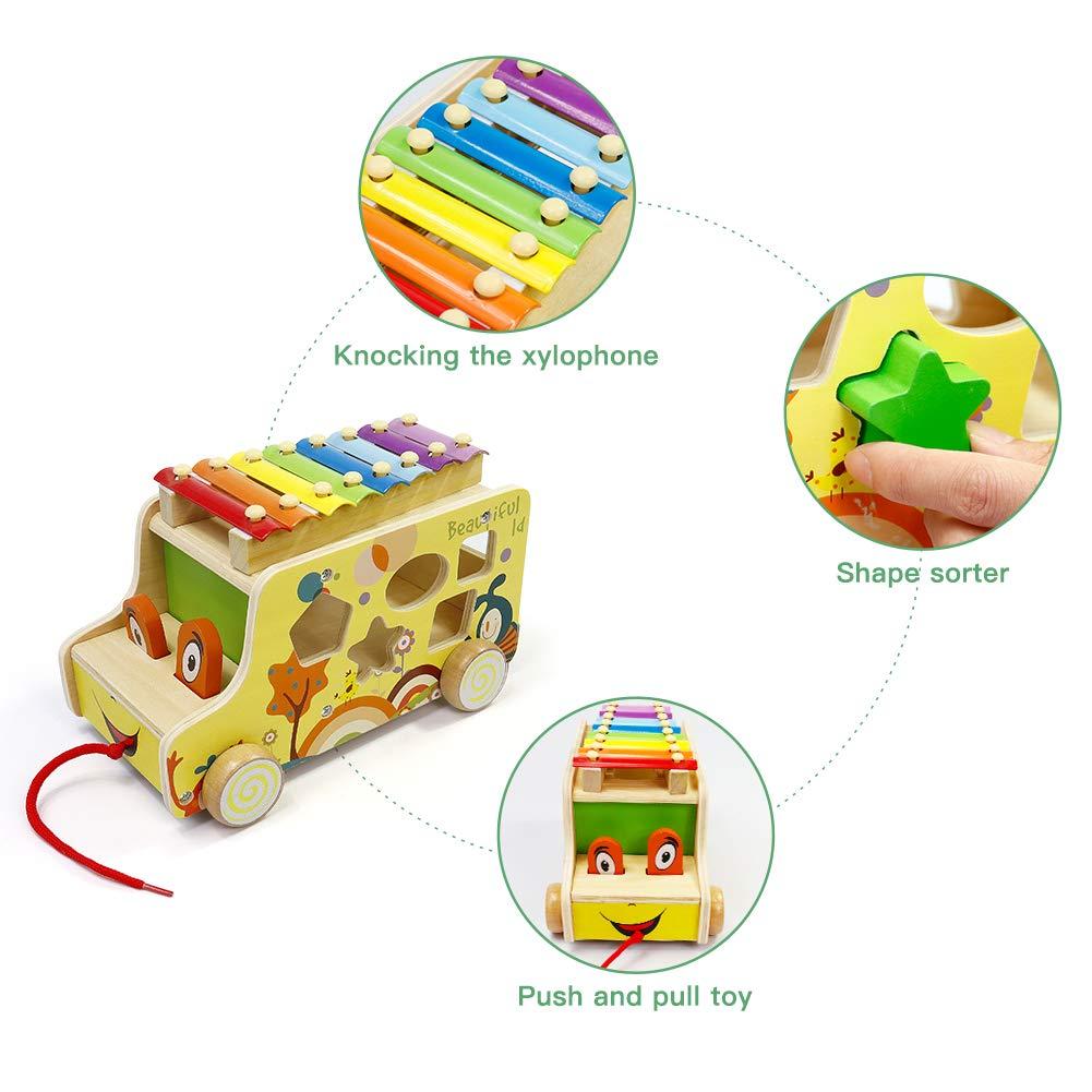 Amazon.com: GEDIAO - Juguetes de madera para niños con ...