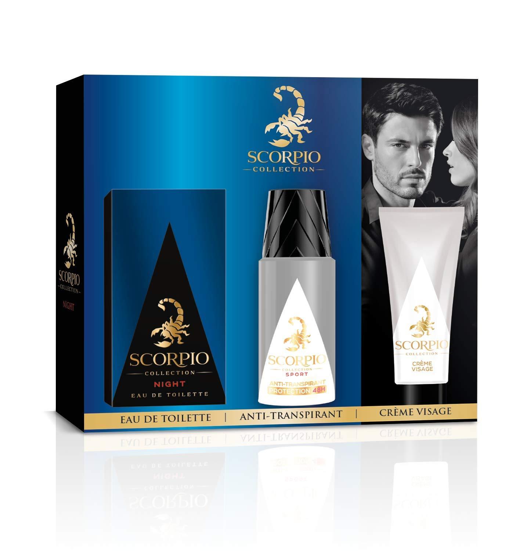... Collection Coffret 3 produits Night - Eau de toilette flacon 75ml,  Déodorant atomiseur 150ml et Gel crème pour visage 50ml  Amazon.fr  Beauté  et Parfum cae3d286cf8