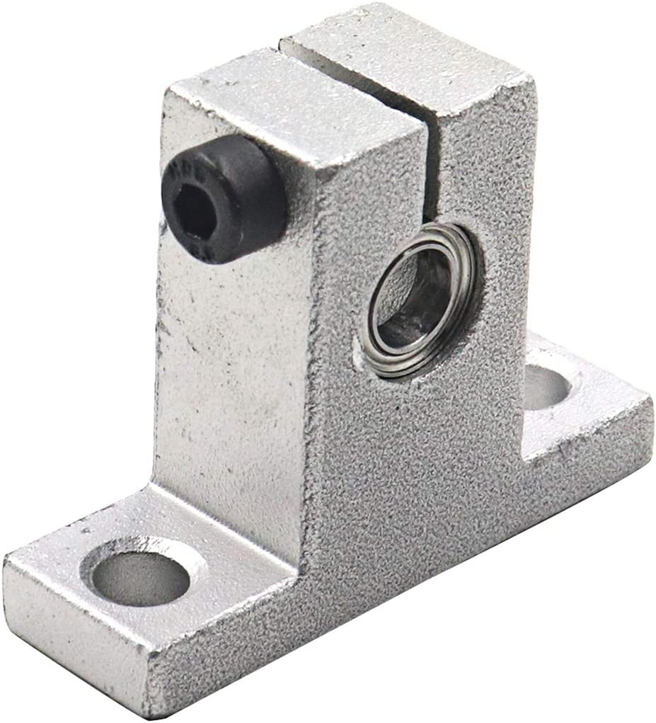 ReliaBot 2PCs 6mm x 150mm Case Hardened Chrome Plated Linear Motion Rod Shaft Guide .2362 x 5.91 inches Metric h8 Tolerance