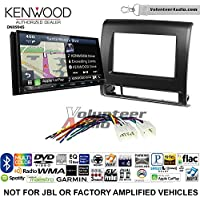 Volunteer Audio Kenwood Excelon DNX994S Double Din Radio Install Kit with GPS Navigation Apple CarPlay Android Auto Fits 2012-2015 Non Amplified Toyota Tacoma