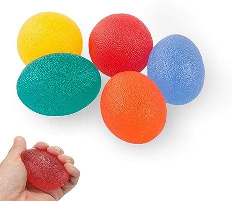 Pelota antiestrés, bolas para apretar, paquete de 5, alivio del ...