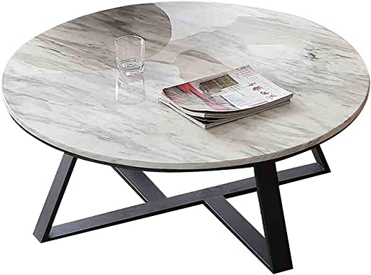 mesas de Centro Modernas Mesa de anidación de mármol Natural Mesa ...