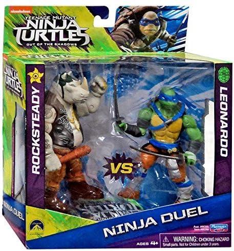 Teenage Mutant Ninja Turtles Out of the Shadows Ninja Duel Rocksteady vs Leonardo 5