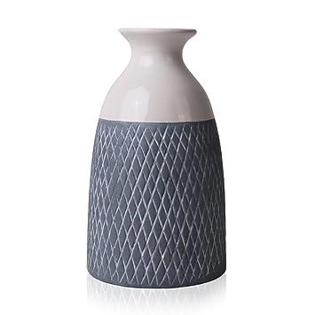 Hannahu0027s Cottage Outdoor Paradise Geometrie Moderne Keramik Vase Kleine  Blumenvase Tischvase Blumen Pflanzen Vase Keramikvase Einfache