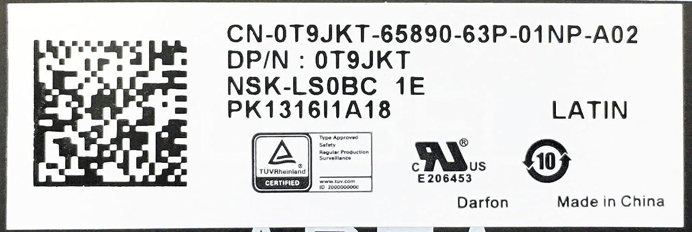 Amazon.com: New T9JKT Genuine OEM Dell Inspiron 15 7000 7359 7547 7548 XPS 13 9343 9350 9360 SPANISH LATIN 81 Keyboard NSK-LS0BC-1E w/Backlight M14NSCB2 ...