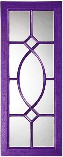 Howard Elliott 60108RP Dayton Mirror, Glossy Royal Purple