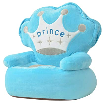 Tidyard Sillon de Peluche para Niños Príncipe Lavable ...