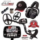 Garrett AT Max Metal Detector with Z-Lynk Wireless Headphones Plus Accessories