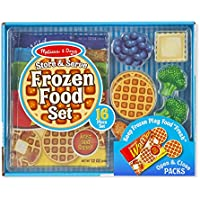 Melissa & Doug Store & Serve Frozen Food Set