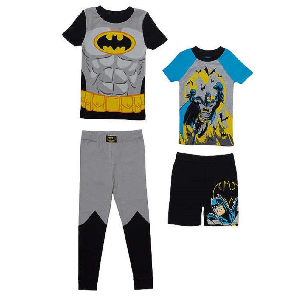 Character Kids 4-piece Pajama Set 7 Batman