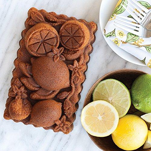 Nordic Ware 90248 Citrus Blossom Loaf, One Size, Copper