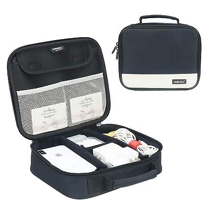 d864a95bbe89 Amazon.com : Electronics Accessories Organizer Bag, Iksnail Travel ...