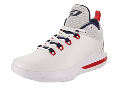 new style 902a6 27ec8 Jordan Nike Men s CP3.X AE White Midnight Navy Basketball Shoe 11 Men US