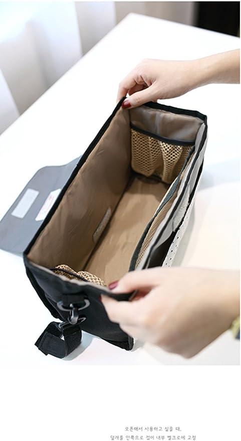 L/&HM Universal Organizador para coches de paseo y bolso cambiador de beb/é Cochecito de Beb/é Cochecito Colgar Bolsas Organizador para Impermeable Negro