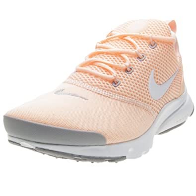 7ae833da9 Amazon.com | Nike Kid's Presto Fly GS, Crimson Tint/White, Youth Size 6 |  Running