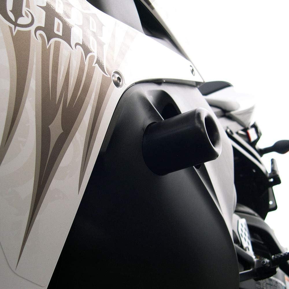 MADE IN THE USA 2009-2012 Honda CBR600RR Black Complete Frame Slider Kit; Includes: Frame Sliders Swing Arm Spools and Bar Ends 755-3349