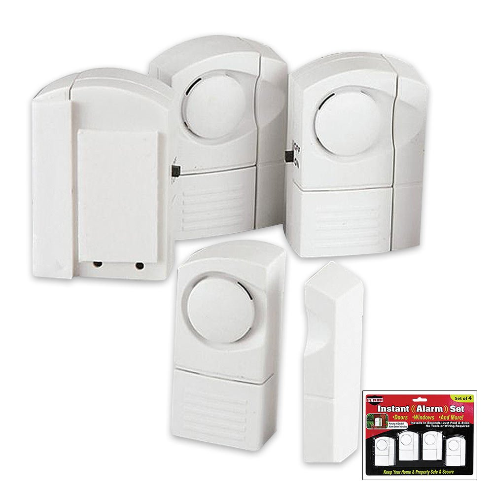 US Patrol Set of 4 Instant Alarm Set: Amazon.es: Electrónica