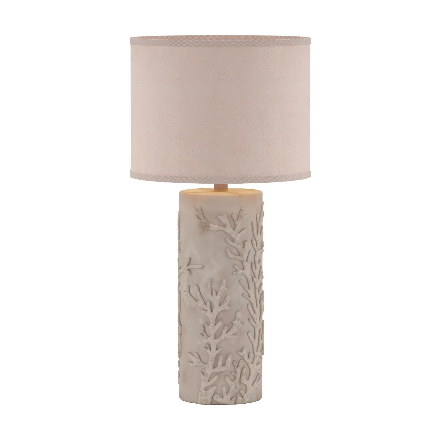 Kenroy Home 32267AWH Reef Table Lamp, Antique White Finish by Kenroy Home (Image #4)