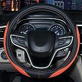 Azul Automix Funda para volante coche Alcantara 38-40 cm suaves color tama/ño universal antideslizantes y sin olor