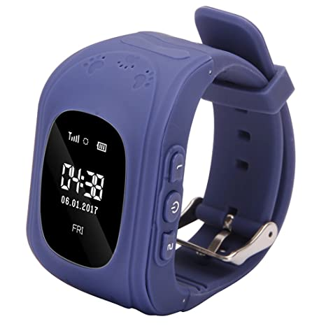 Amazon.com: Aulley 0.96 Inch LCD Light Sensor Smart Wrist ...
