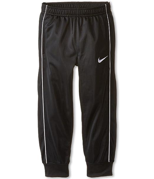 996151fbb8951 Amazon.com: Nike Kids Boys' Tricot Cuff Pants (Little Kids), Black ...