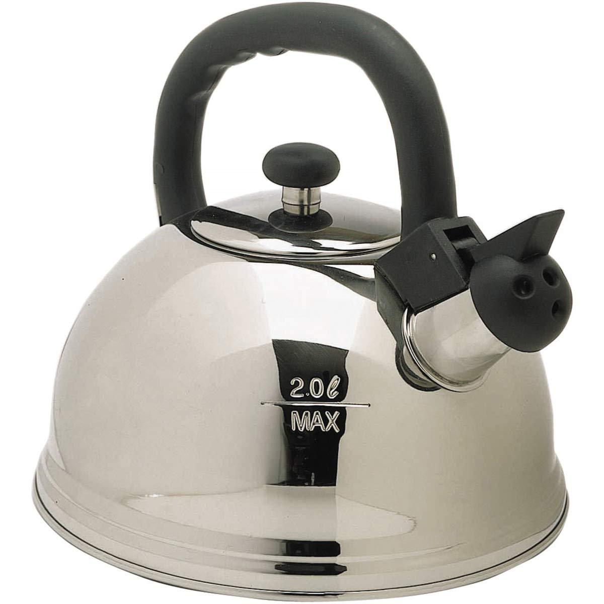 Le'Xpress Bollitore a fischio in acciaio INOX 2 l Kitchen Craft KCKETW2