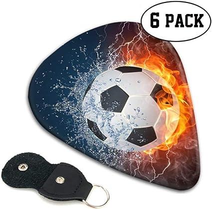 Balón de fútbol Fuego Agua Ilustración Selecciones de guitarra ...